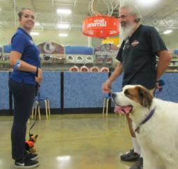 Penny assisting at PetsMart - 04SEP18