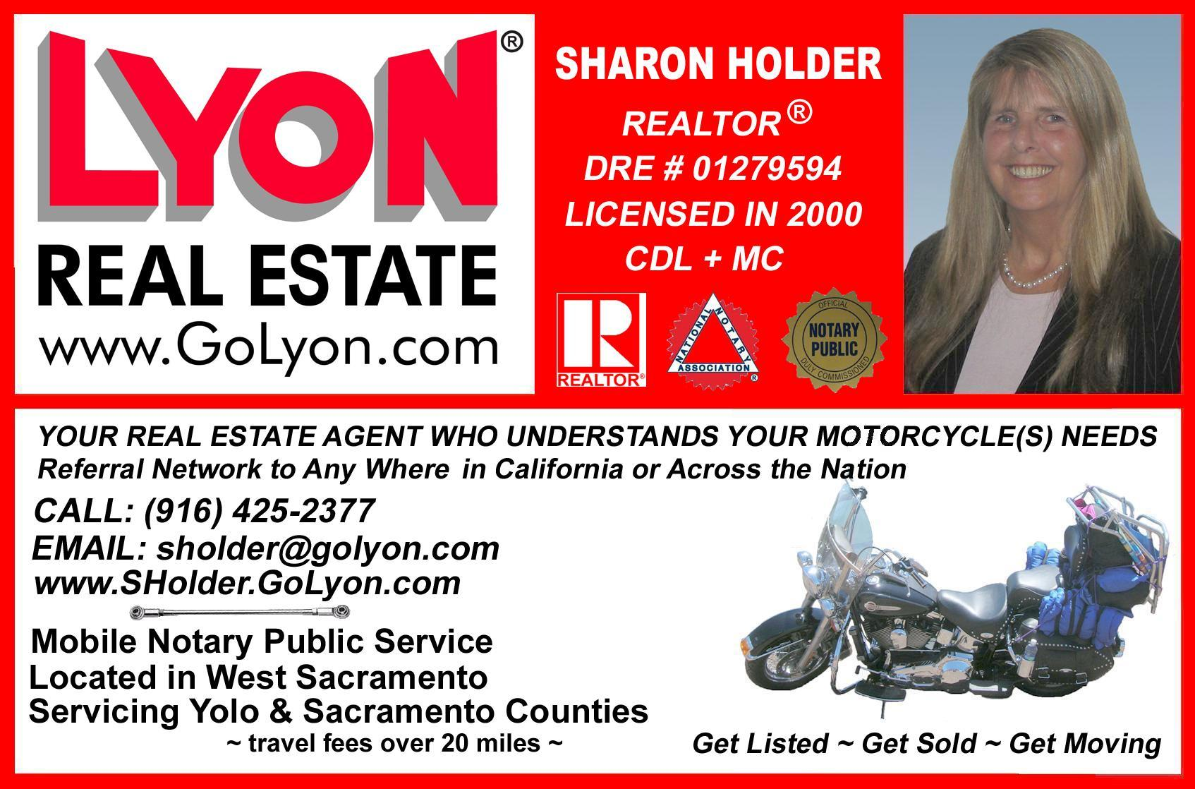 Sharon Holder, Realtor, Greater Sacramento Area